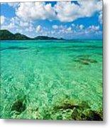 Beautiful Turquoise Water Metal Print
