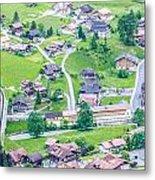 Beautiful Village Lauterbrunnen Metal Print