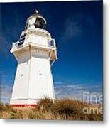 Beautiful Waipapa Point Lighthouse The Catlins Nz Metal Print