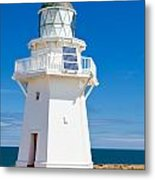 Beautiful Wairapa Point Lighthouse The Catlins Nz Metal Print