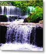 Beautiful Waterfall Metal Print