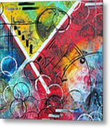 Beauty Amongst The Chaos By Madart Metal Print
