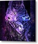 In The Comfort Of Her Embrace Metal Print
