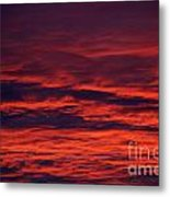 Beauty In Clouds Metal Print by Rebecca Christine Cardenas