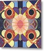 Beauty In Symmetry 4 - The Joy Of Design X X Arrangement Metal Print