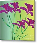 Beauty Is Your Name Metal Print