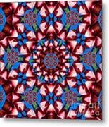Beauty Of Aruba Kaleidoscope Metal Print
