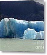 Beauty Of Icebergs Patagonia 6 Metal Print