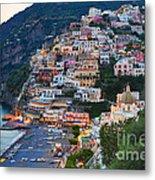 Beauty Of The Amalfi Coast  Metal Print by Leslie Leda