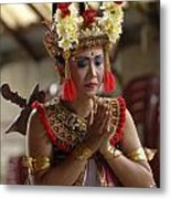 Beauty Of The Barong Dance 1 Metal Print