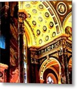 Beauty Of The Basilica Metal Print
