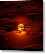 Beauty Of The Sun And Clouds Metal Print