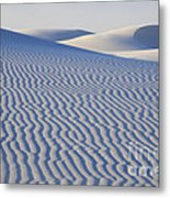 Patterns White Sands New Mexico Metal Print