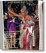 Beauty Queen Metal Print