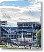 Beaver Stadium Game Day Metal Print