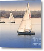 Becalmed Metal Print