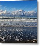 Beckoning Sea Metal Print
