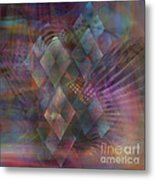 Bedazzled - Square Version Metal Print