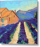 Bedoin - Provence Lavender Metal Print
