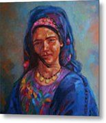Bedouin Woman Metal Print