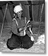 Bedouin Woman Metal Print