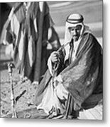 Bedouins In Jordan Metal Print