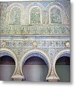 Bedroom Of The Moorish Kings In Real Alcazar Metal Print