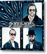 Bee Gees I Metal Print