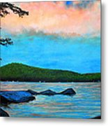 Beech Hill Pond Metal Print