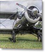 Beechcraft Staggerwing Metal Print