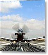 Beechcraft T-6a Texan II -  Metal Print