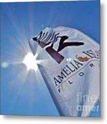 Beer Flag Metal Print