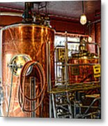 Beer - The Brew Kettle Metal Print