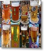 Beers Of Europe Metal Print