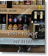 Beers Warden Metal Print