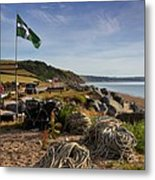 Beesands Metal Print