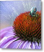 Beetlemania Metal Print