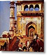 Before A Mosque 1883 Metal Print