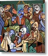 Before The Last Supper Metal Print