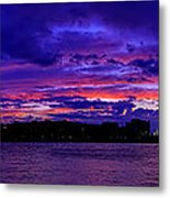 Before The Rain Metal Print by Metro DC Photography