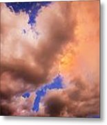 Before The Storm Clouds Stratocumulus 5  Metal Print
