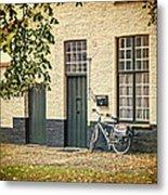 Begijnhof Bicycle Metal Print