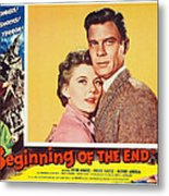Beginning Of The End 1957 Metal Print
