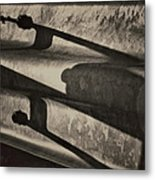 Behind The Barrier Metal Print by Odd Jeppesen