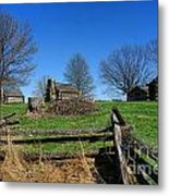 Behind The Fences  Metal Print