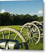 Behind The Firing Line Metal Print