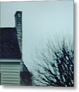 Behind The House Metal Print by Margie Hurwich