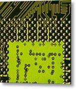 Behind The Processor Socket Metal Print