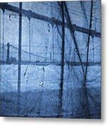 Behind The Veil - New York City Metal Print