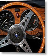Behind The Wheel Metal Print by Odd Jeppesen